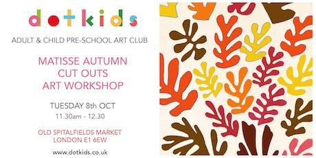 Pre-School Art Club: Matisse Autumn Collage Music Children's Art Workshop tickets