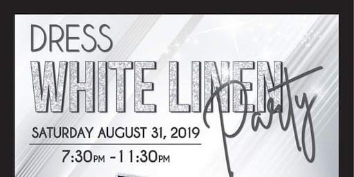Dress White Linen Party