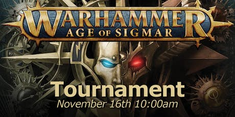 Age of Sigmar Tournament tickets