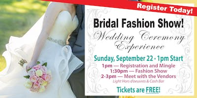 Bridal Fashion Show & Wedding Ceremony Experience
