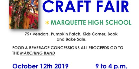 75+ vendor CRAFT FAIR - Sat. OCT 12, '19 Free Admission, come out and support the kids Band. (Chesterfield, MO) Free Parking. tickets