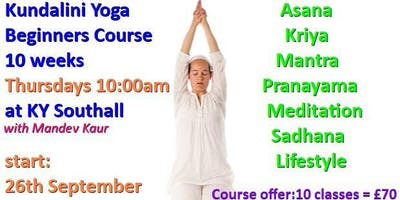 Kundalini Yoga Beginners Course