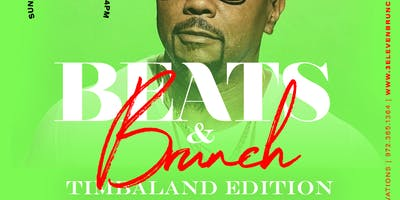 Brunch & Beats presents The Timbaland Brunch at 3Eleven Kitchen & Cocktails