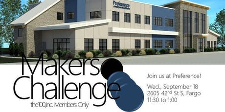 Makers Challenge 3 | the100,inc. Members Only tickets
