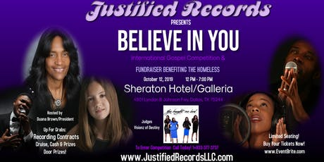 Believe In You International Gospel Competition tickets
