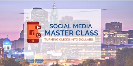 Social Media Masters Class tickets