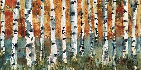 Create Your Own Holiday Cards: Winter Birch Tree with Kevin Kuhne tickets