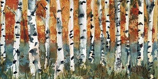 Create Your Own Holiday Cards: Winter Birch Tree with Kevin Kuhne
