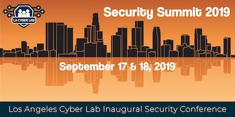 Security Summit 2019 tickets