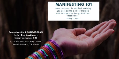 Manifesting 101 tickets
