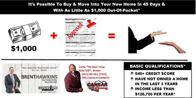 Buy A Home With As Little As $1,000 Down