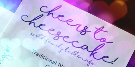 Cheers to Cheesecake: Sweetest Day Edition