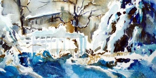 Winter Landscape in Watercolor with Kevin Kuhne