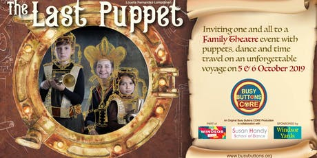 Windsor Fringe - 'The Last Puppet' A Busy Buttons CORE Theatre Production tickets