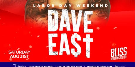 Labor Day Weekend : Dave East Performing Live tickets
