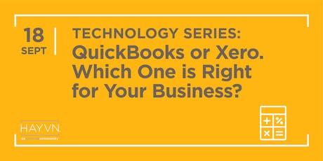 HAYVN WORKSHOP: Quickbooks or Xero, Technology Series tickets