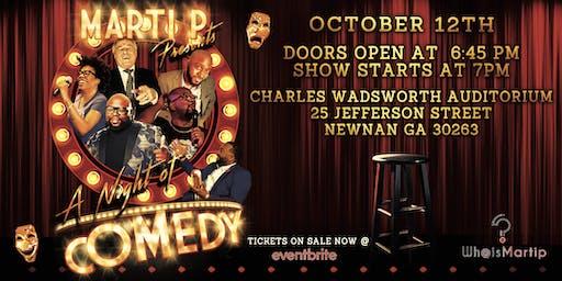 Marti P Present A Night of Comedy