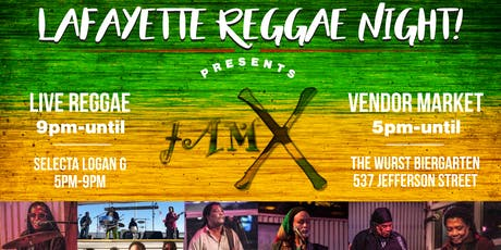 Lafayette Reggae Night Feat. JAM-X!! tickets