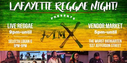 Lafayette Reggae Night Feat. JAM-X!!
