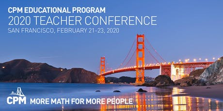 2020 CPM Teacher Conference tickets