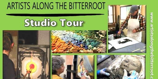 Artists Along the Bitterroot - November Studio Tour Bus Ticket