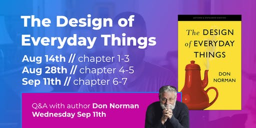 The Design of Everyday Things (Part 2/3) // CPHUX Book Club
