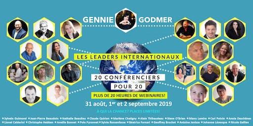 20 LEADERS INTERNATIONAUX 20 HEURES DE WEBINAIRES POUR 20$