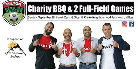 Milton Outdoor Pick Up Soccer Charity BBQ & Social in Support of ICD tickets