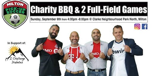 Milton Outdoor Pick Up Soccer Charity BBQ & Social in Support of ICD