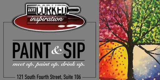 Paint & Sip | Four Seasons