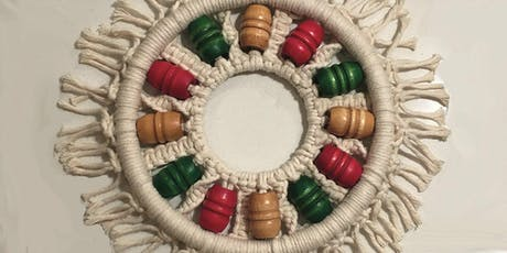Holiday Macrame Ornament or Wreath Workshop tickets