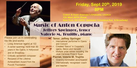 Free Concert_The Music of Anton Coppola tickets