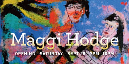 Maggi Hodge Painting Exhibition - Women, Chaos and X