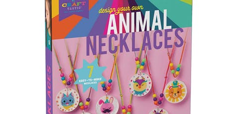 MUST RESERVE-Animal or Flower Necklace tickets