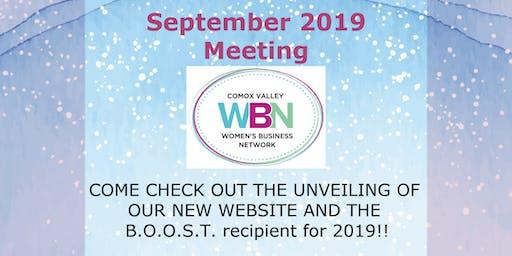 September 2019 Dinner Meeting