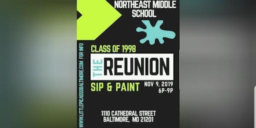 NEMS Class of 1998  Reunion Sip & Paint
