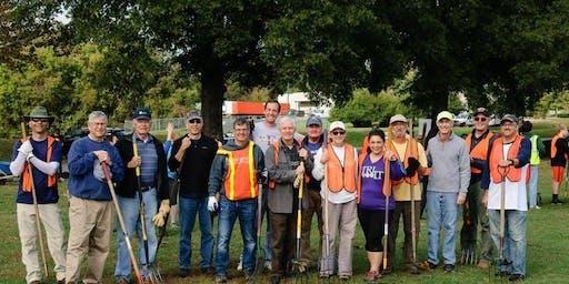 K-Family Service Project at Kiwanis Park