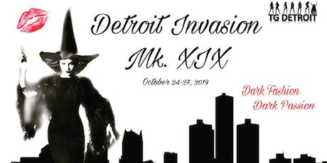 Detroit Invasion Mk. XIX tickets