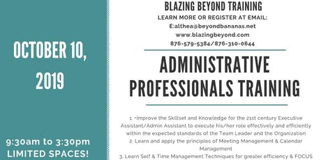 Administrative Assistant Professionals Training tickets