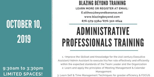 Administrative Assistant Professionals Training