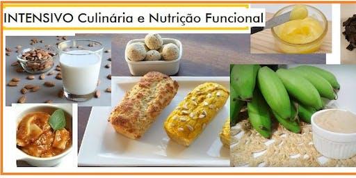 30/11 INTENSIVO Culinária e Nutrição Funcional - 9h às 17h