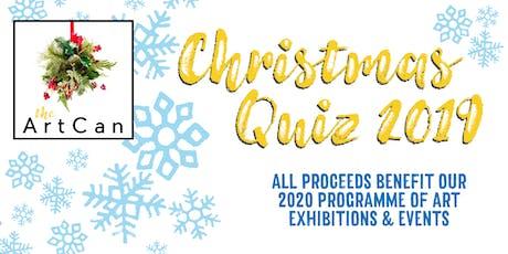 ArtCan Christmas Quiz & Fundraiser tickets