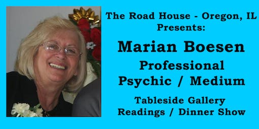 Marian Boesen - Professional Psychic Medium Gallery Reading