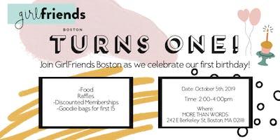 GIRLFRIENDS BOSTON BIRTHDAY PARTY!