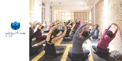 Yoga en las tardes – Puerta de Toledo – Clase de Prueba