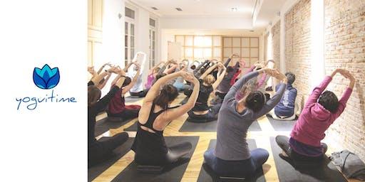 Hatha Yoga - Puerta de Toledo - Clase de Prueba