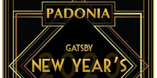 GATSBY 2020 New Year's Eve at PADONIA