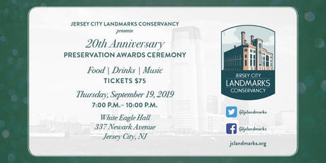 20th Anniversary Preservation Awards Ceremony tickets