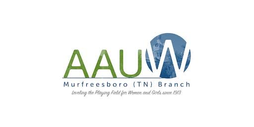 AAUW Murfreesboro Open House
