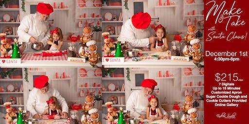 Make and Take with Santa!